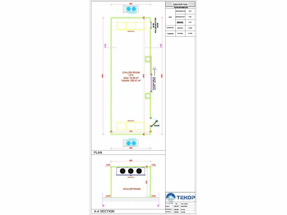 Qatar Chiller Room Design
