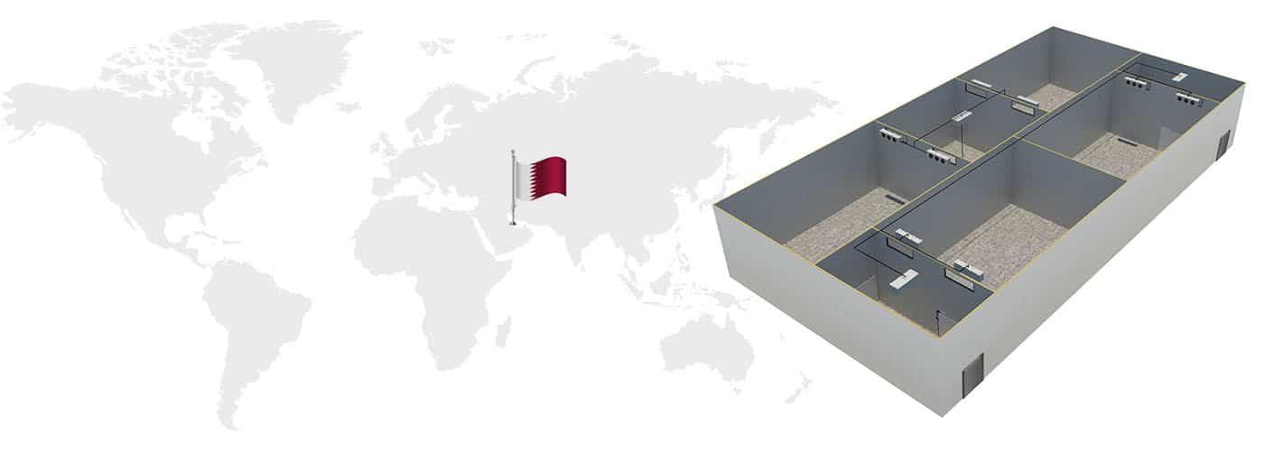 Qatar Cold Storage Construction