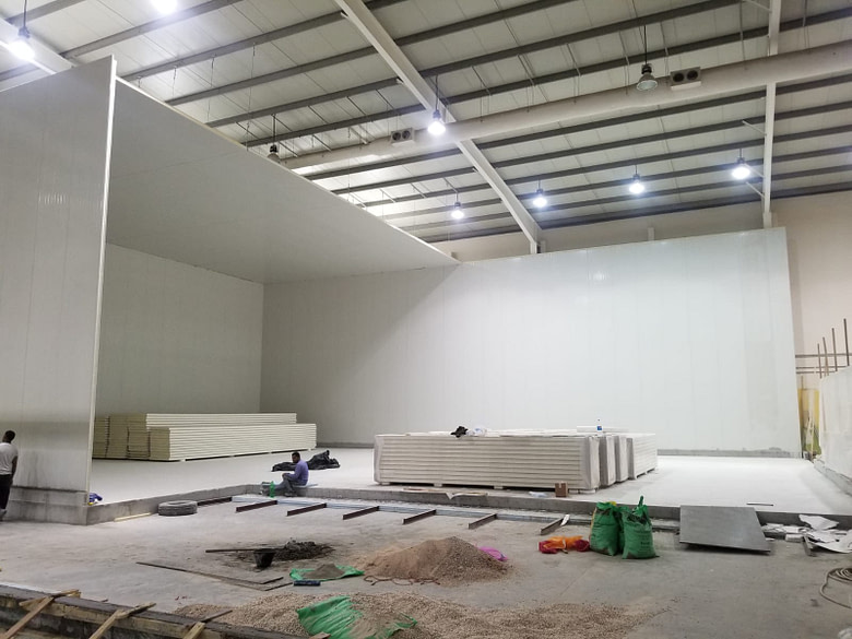 Qatar Cold Room Construction