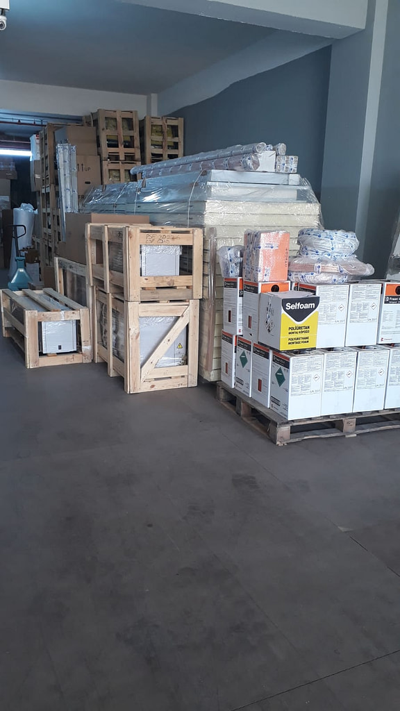 Malta Cold Room Project Equipments