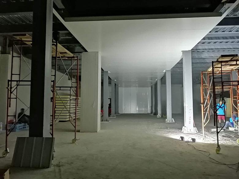 Maldives Cold Room Construction