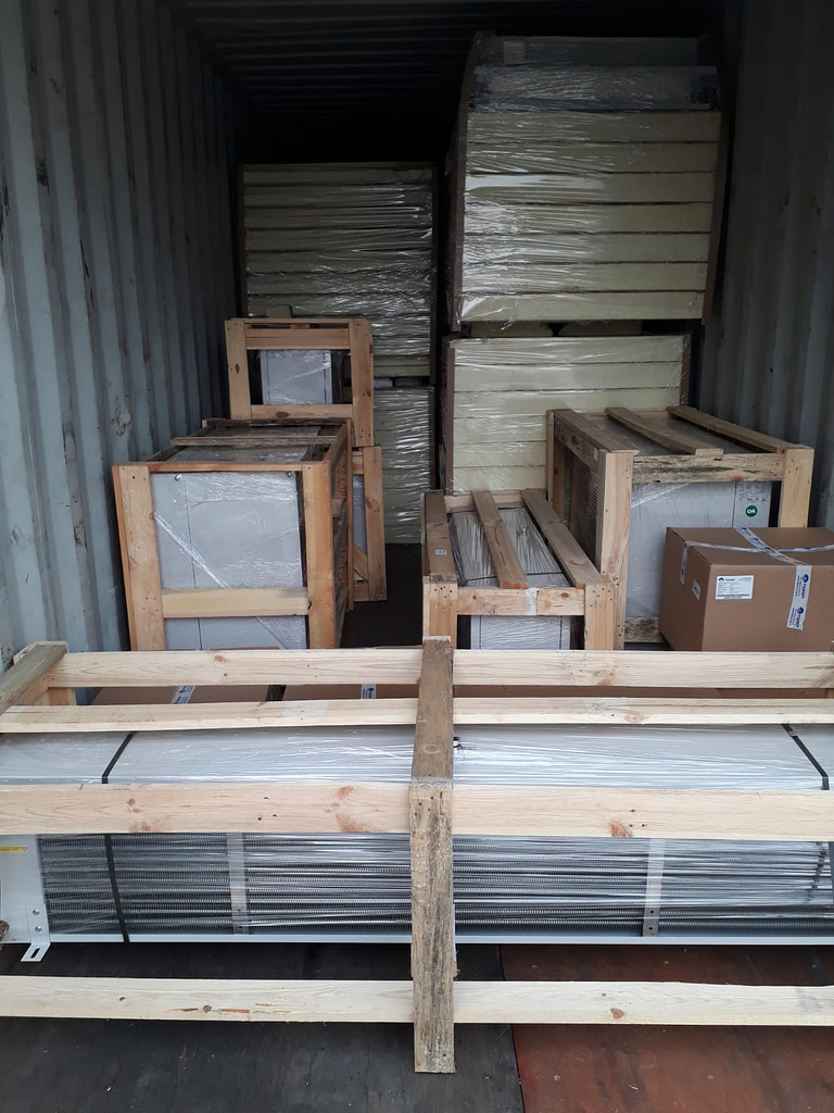 Malta Cold Room Construction Project Shipment