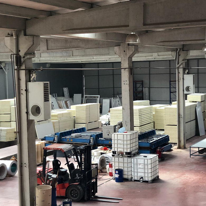 Caribbean Cold Storage Panels