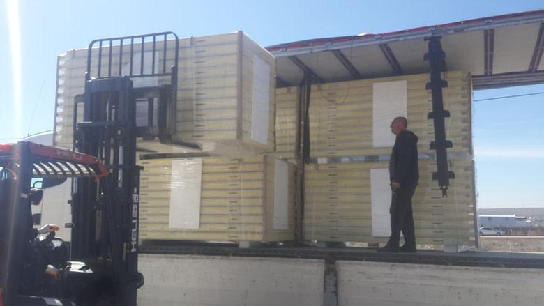 Caribbean Freezer Room Construction