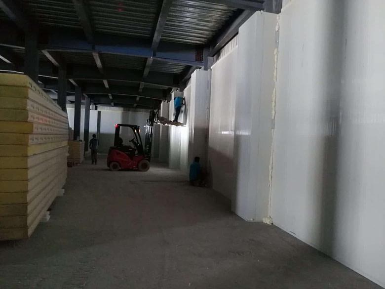 Maldives Cold Storage Installation