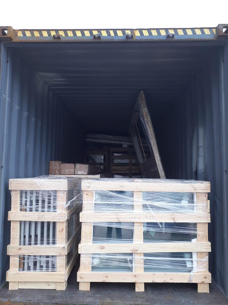 Qatar Cold Storage Project Shipment