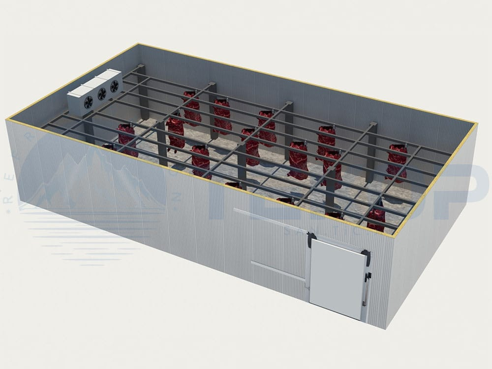 Meat Cold Room Project in Bahrain
