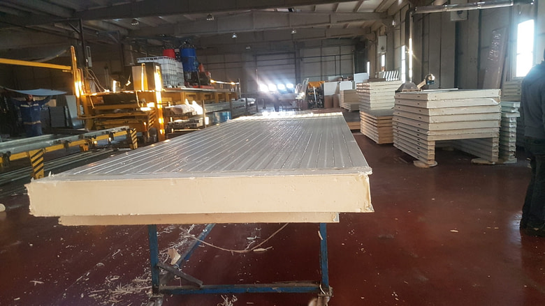 Qatar Cold Room Panel Manufacture