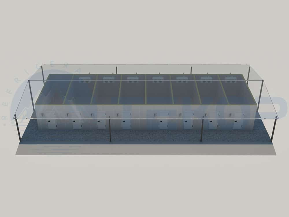 Cold Storage Construction Project Model