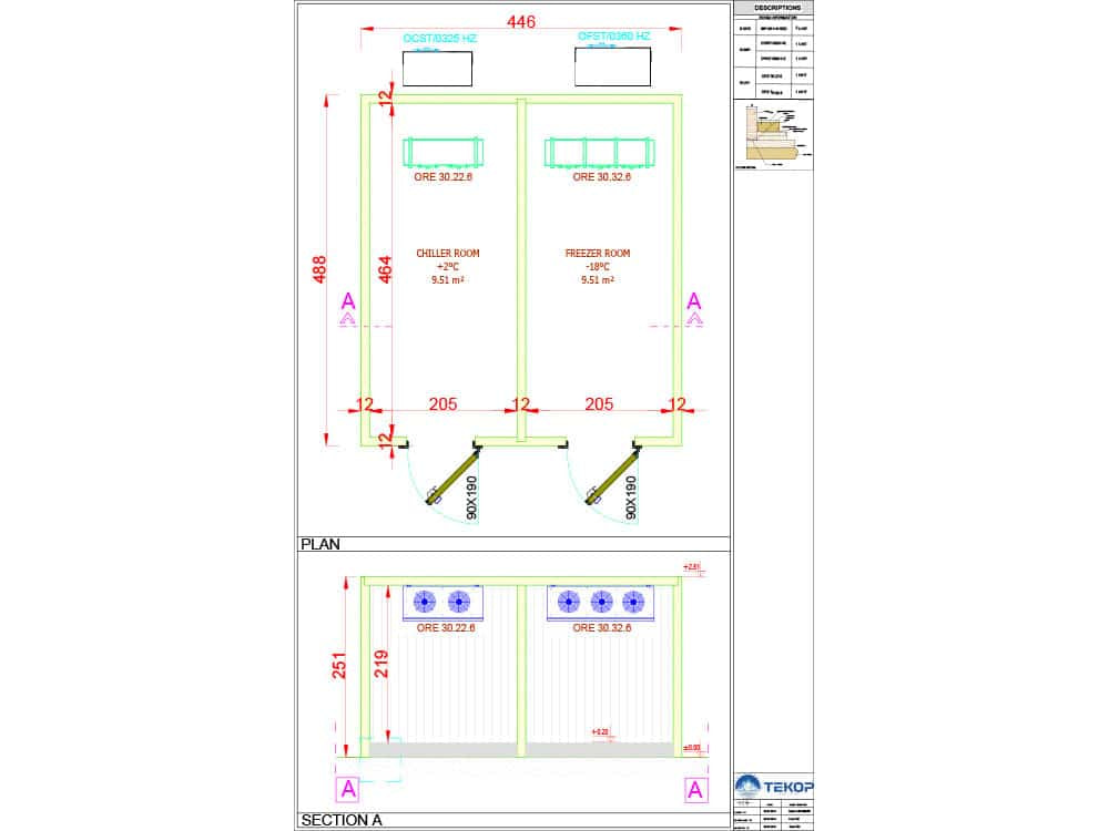 Maldives Cold Storage Warehouse Plan