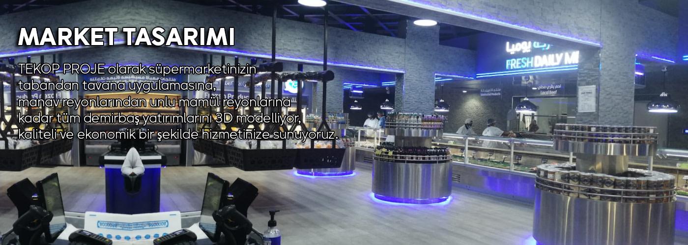 market tasarımı
