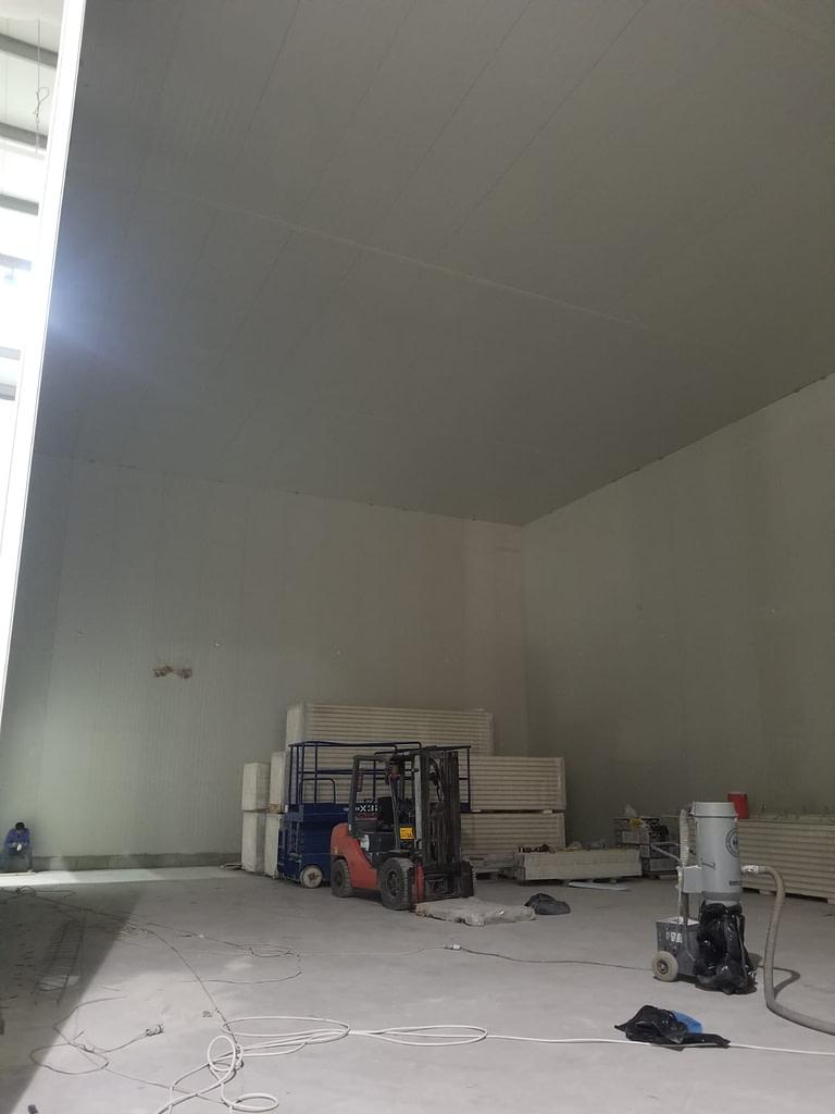 Qatar Cold Room Build