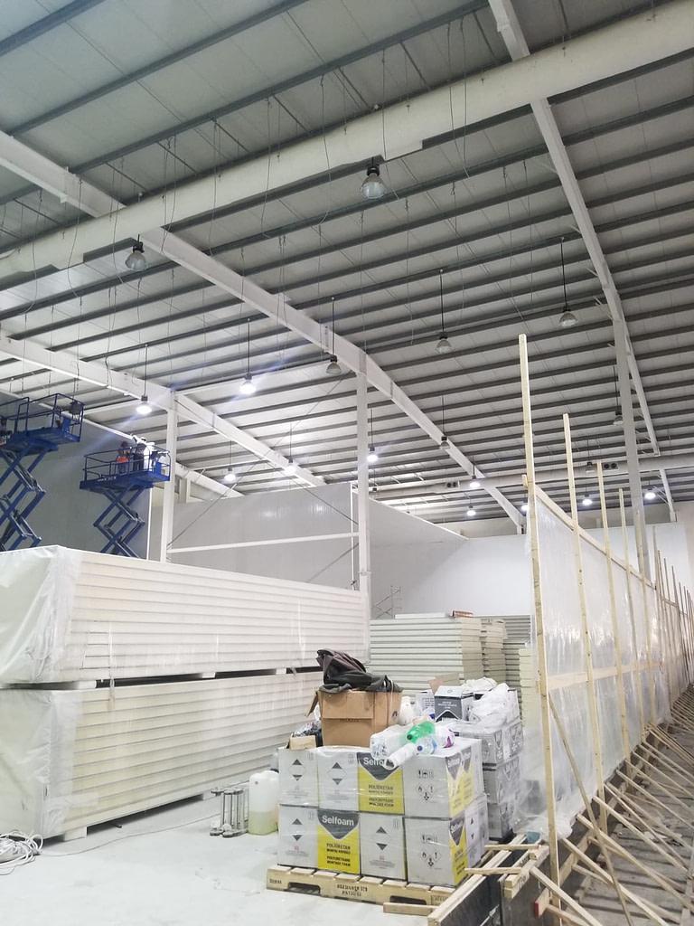Qatar Cold Room Installation