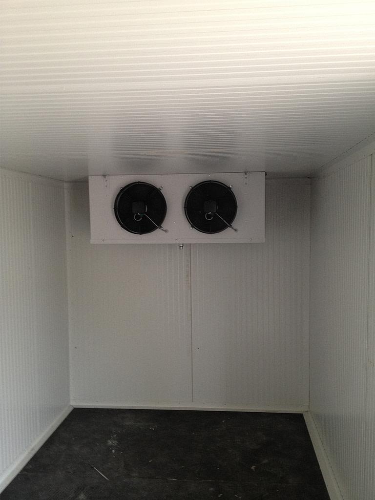 Turn-Key Freezer Room