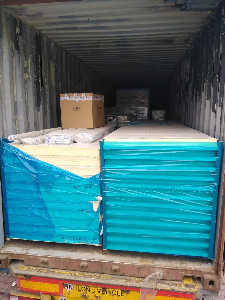 cold room shipment