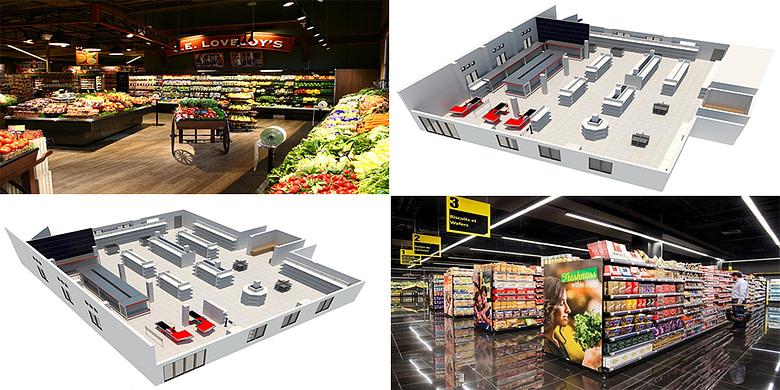 Turn-Key Super Market Construction