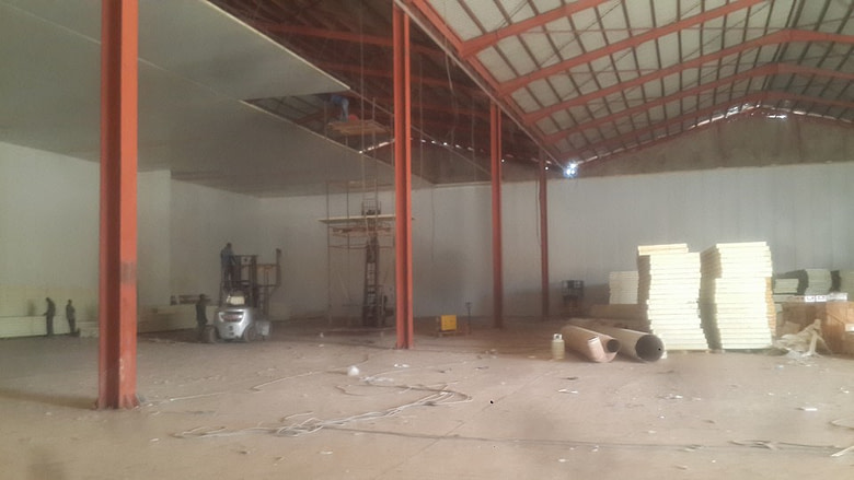 Mali Cold Storage Construction