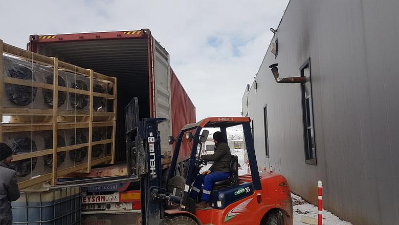 Malta Cold Store Shipment