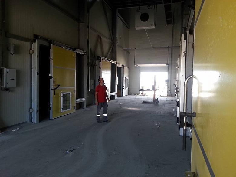 Azerbaijan Turn Key Cold Storage Room