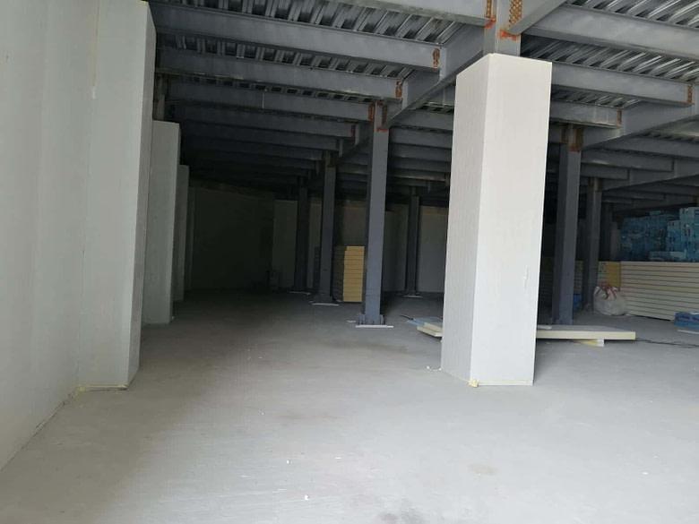 Maldives Cold Room Project Installation