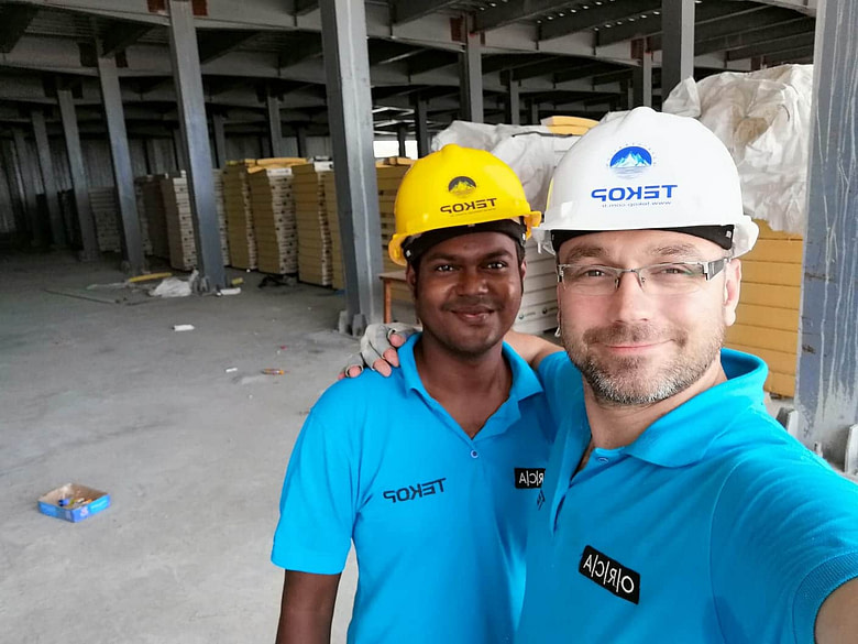 Maldives Cold Storage Construction